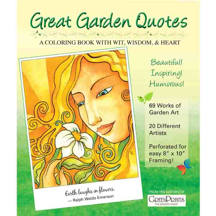 Great Garden Quotes Green Prints Magazine